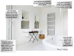 Create A Chandelier How To Get The Lighting Right The Bathroom Mad About The House