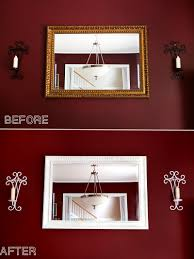 Spray Paint House Walls Update An Old Mirror Frame Diy Painting Tutorial Update Your