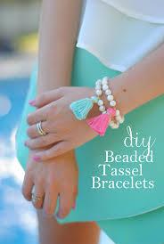 pearls bracelet diy images Southern curls pearls diy beaded tassel bracelets jpg