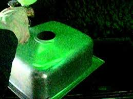 Green Kitchen Sink by Green Strippable Coating For Kitchen Sink Or Sanitary Ware Youtube