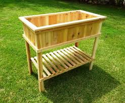diy raised garden beds on legs gardening ideas