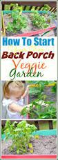 how to start your own back porch veggie garden u2013 miss frugal mommy