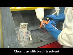 devilbiss tutorial how to clean a gravity spray gun step 3 of