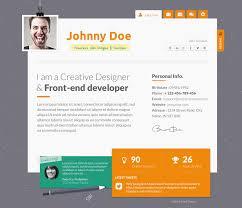 Wordpress Resume Themes 15 Best Online Cv U0026 Resume Wordpress Themes Mooxidesign Com
