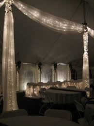 how to use tulle to decorate a table this is the lights in tulle thing i was telling you about tulle and