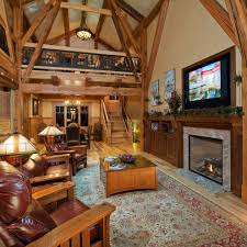 rustic great room ideas living room rustic with vaulted ceiling