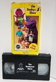 The Backyard Show Book Barney by Barney Videos Barney Vhs Zeppy Io