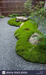 Japan Rock Garden by Carefully Manicured Moss Highlights A Rock Garden At Sanzenin