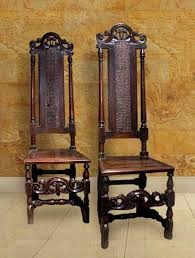Antique High Back Chairs Antique Cane Chairs High Back Carved Crests Cane Backed Side