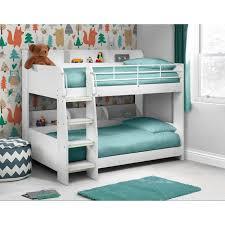Julian Bowen Bunk Bed Julian Bowen Domino White Bunk Bed Furniture123