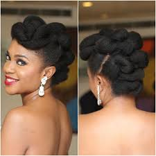 latest hair styles in nigeria nigerian female celebrities and how they rock their natural hair
