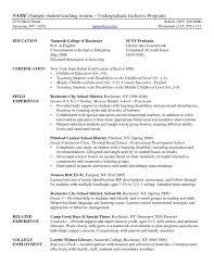 substitute teacher resume sample substitute teacher exemple de cv