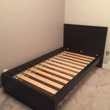 find more ikea single bed frame black brown for sale at up to 90