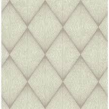 Herringbone Line Wallpaper Beige Peel by Brewster Hound Sage Herringbone Wallpaper 2718 002811 The Home Depot