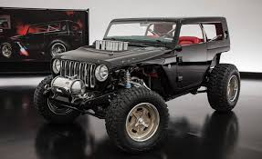 jeep concept truck jeep u0027s quicksand concept combines wrangler and rod news
