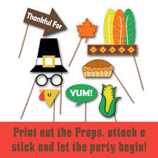 thanksgiving photo booth props thanksgiving photo booth props and decorations printable