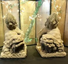 japanese guard dog statues spirited fu dog pair for the new year ahead schneible arts llc