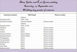wedding reception itinerary 35 beautiful wedding guest list itinerary templates