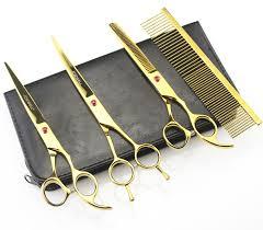 7 u0027 u0027 hairdressing scissors 62hrc jp 440c stainless steel pet hair