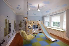 Build Bunk Bed With Slide by Bunk Bed Slide Contemporary Boy U0027s Room Vanessa Deleon
