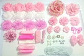 how to make baby flower headbands diy baby flower headbands diy headband kit light pink headbands