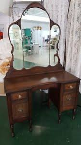 antique dressing table with mirror vintage original vanity with original pulls antique dressing table