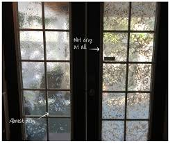 leaded glass french doors diy faux stained glass front door blog