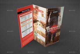 church missions tri fold brochure template by godserv graphicriver