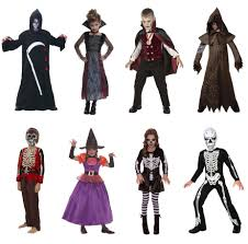 Boys Skeleton Halloween Costume Halloween Fancy Dress Costumes Boys Girls Vampire Witch Warlock