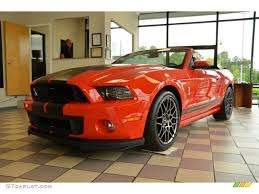 Red And Black Mustang Gt 2014 Race Red Ford Mustang Shelby Gt500 Svt Performance Package