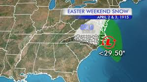 I 95 Map Weather Blog 100th Anniversary Of Easter Weekend Snowstorm April