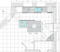 plan de cuisine avec ilot taille cuisine avec ilot central cuisine ilot moderne on