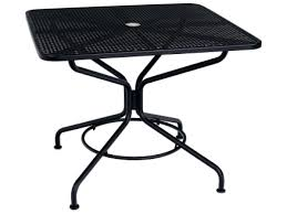 Mesh Patio Table Patio Ideas Square Patio Table For 8 Canada Woodard Mesh Wrought