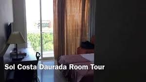 hotel sol costa daurada salou room tour hd youtube