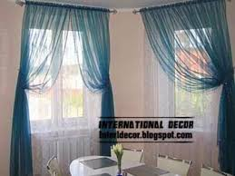 Bright Colored Kitchen Curtains Interior And Architecture Contemporary Kitchen Curtain Ideas 2014