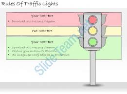 1113 business ppt diagram rules of traffic lights powerpoint