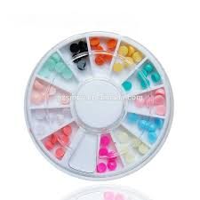 wholesale sweet candy color nail art design newest 4mm flat back