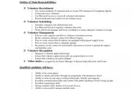 Volunteer Resume Samples by Bing Security Guard Resume Sample Reentrycorps