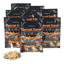 best way to light charcoal amazon com instafire charcoal briquette fire starter pouches for