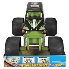 grave digger monster truck toy wheels monster jam giant grave digger kmart