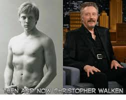 Christopher Walken Memes - then and now christopher walken meme on me me