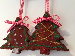 gingerbread decorations from