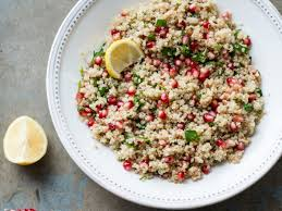 quinoa thanksgiving recipes quinoa and pomegranate salad recipe todd porter and diane cu