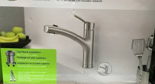 luxurious and splendid royal line touchless kitchen faucet costco