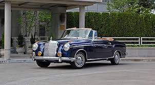 mercedes used car sales car of the day car for sale 1958 mercedes 220s
