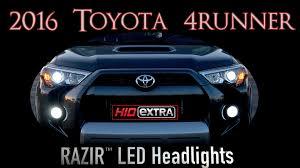 toyota tacoma hid fog lights hid razir led headlight fog light install 2016 toyota