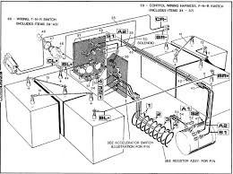 ez go golf cart battery wiring diagram floralfrocks