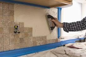 How To Tile A Kitchen Backsplash How To Make A Kitchen Backsplash With Things At Home Home Guides