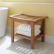 Bathroom Stool Storage Bathroom Stools And Benches Images Teak Shower Stool With