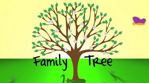 family tree animated intro on vimeo